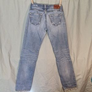 "Big Star Jeans - Big Star ""Liv"" Vintage Collection Distressed Jeans"